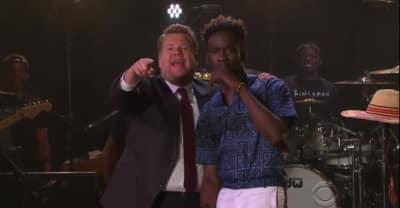Watch Mr Eazi Perform Two Songs On The Late Late Show