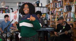 Watch Noname's NPR Tiny Desk Concert