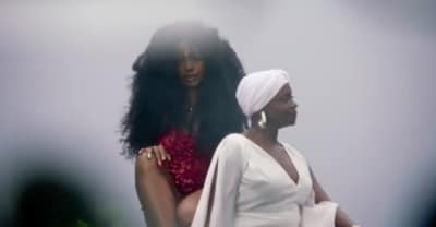 SZA shares snippet of new video featuring Donald Glover and her mother