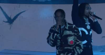 "Watch Quavo and Travis Scott perform ""Eye 2 Eye"" on Jimmy Kimmel Live!"
