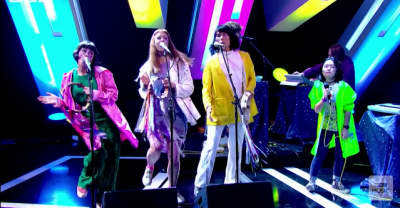 Watch Superorganism make their TV debut on Later...
