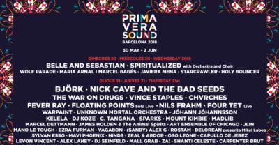 Björk, Migos, and Lorde confirmed for Primavera Sound 2018