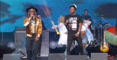 "Watch Ty  Dolla $ign perform ""Ex"" with YG on Jimmy Kimmel Live!"