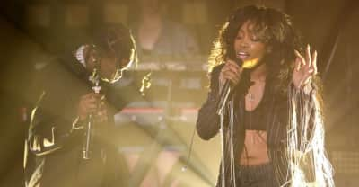 "Watch SZA And Travis Scott Perform ""Love Galore"" On The Tonight Show"