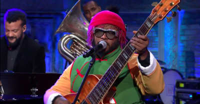 """Watch Thundercat perform """"Them Changes"""" on The Late Show"""