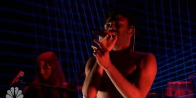 "Watch Childish Gambino Perform ""Redbone"" On The Tonight Show"