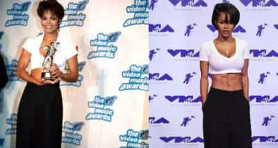 Teyana Taylor Pays Homage To Janet Jackson With Her 2017 VMAs Look