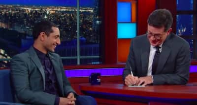 Watch Riz Ahmed Get Interviewed And Rap On The Late Show With Stephen Colbert