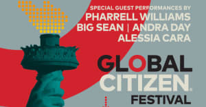 Livestream The 2017 Global Citizen Festival Right Now