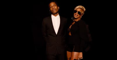 "ASAP Rocky Joins Mary J. Blige In The ""Love Yourself"" Video"