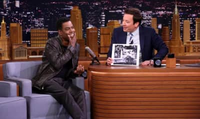 Watch Chris Rock Remember Obama's White House Farewell Party