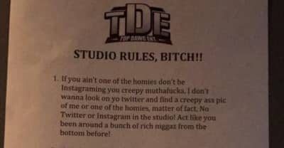 Top Dawg Entertainment's Hilarious Studio Rules Should Be The New Constitution