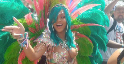 Take A Minute To Appreciate Rihanna's 2017 Crop Over Look