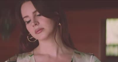 "Lana Del Rey Shares Quietly Futuristic ""White Mustang"" Video"