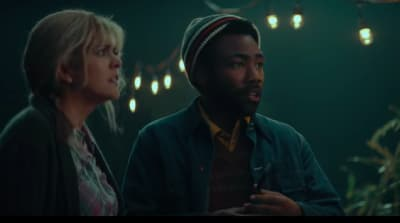 Watch Donald Glover read Kanye West's tweets in horror on SNL
