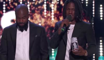Watch Daniel Caesar win at the Juno awards