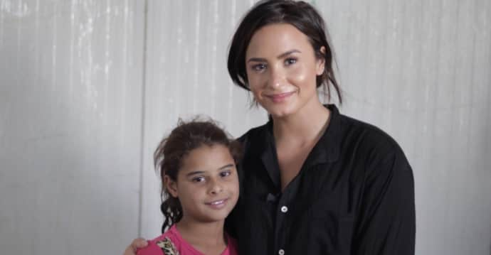 thefader.com - Demi Lovato Is Named As New Global Citizen Health Ambassador