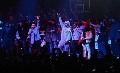 Kendrick Lamar And The Weeknd Make Guest Appearances At Yams Day 2017