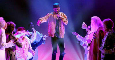 Watch Big Sean Dance With Senior Citizens During His Ellen Performance