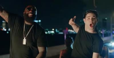 "Listen To Rick Ross And Skrillex Join Forces On ""Purple Lamborghini"""