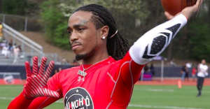 Check out the highlights from Quavo's Easter Sunday football game