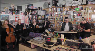 Watch Alt-J's NPR Tiny Desk Concert