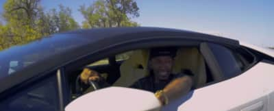"""Beez Rides In A Transformative Whip In The Video For """"Donuts In A Lambo"""""""