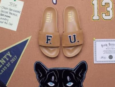 Rihanna teases new Fenty University slides coming this week