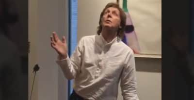 Paul McCartney Did The #MannequinChallenge