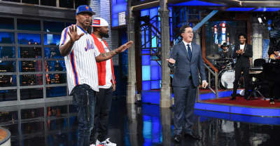 """Method Man and Ghostface Killah met James Comey, argued with """"Jeff Sessions"""" on Colbert"""