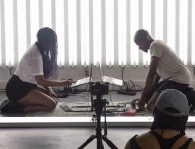 "Listen To ""SCRAAATCH No. 11,"" The Philly Duo's New Spine-Tingling Sound Poem"