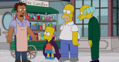 "Watch A Clip From The Simpsons's Upcoming ""Hip-Hop Homage"" Episode"