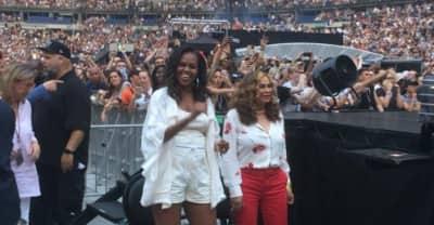 Watch Michelle Obama dancing at Beyoncé and JAY-Z's Paris show