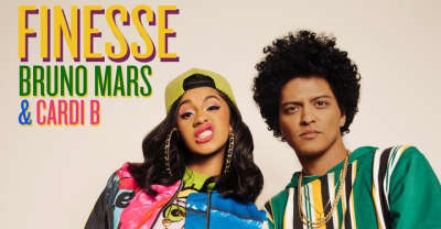 "Cardi B and Bruno Mars release ""Finesse"""