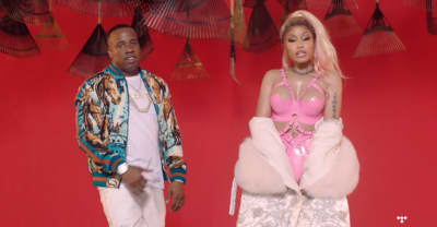 "Nicki Minaj Joins Mike WiLL Made-It And Yo Gotti For The ""Rake It Up"" Video"