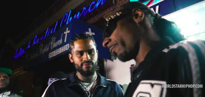 "Watch Snoop Dogg and Dave East in the video for their new song ""Cripn 4 Life"""