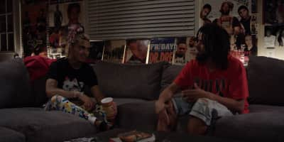 Watch J. Cole's interview with Lil Pump