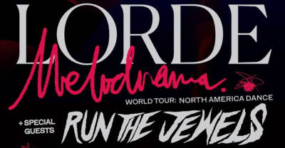 Lorde is touring North America with Run The Jewels and Mitski