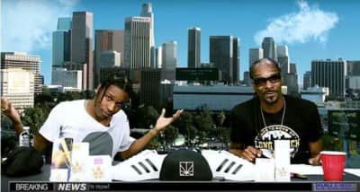 "Watch A$AP Rocky And Snoop Dogg Freestyle Over Mobb Deep's ""The Realest"""