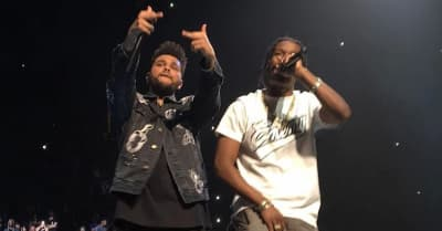 Watch The Weeknd Bring Playboi Carti, French Montana, And A$AP Rocky On Stage In NYC