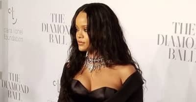 Rihanna Looks Stunning At The Third Annual Diamond Ball