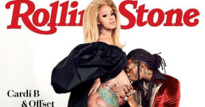 Cardi B and Offset cover Rolling Stone magazine