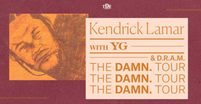 Kendrick Lamar Just Added New Dates To The DAMN. Tour