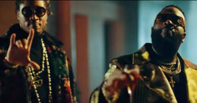 """Watch the video for Rick Ross and Future's """"Green Gucci Suit"""""""