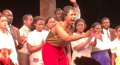 "Watch Jennifer Hudson And The Color Purple Cast's Stunning Rendition Of ""Purple Rain"""