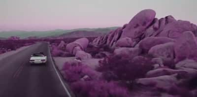 "ThiDaniel Brings A Color-Changing Love To The Desert In The Video For ""Purple"""