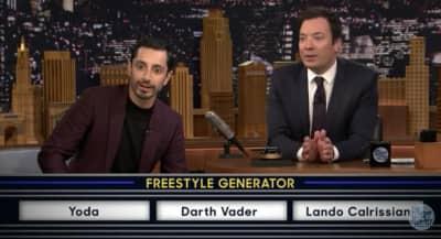 Watch Riz Ahmed's Star Wars Freestyle