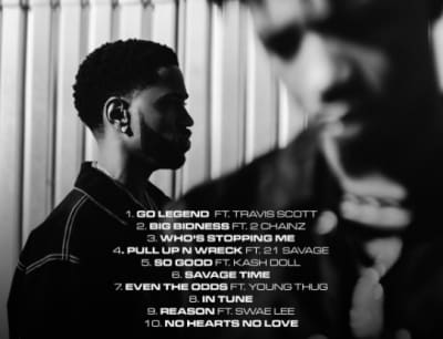 Big Sean and Metro Boomin's Double or Nothing is out now