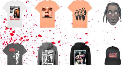 Travis Scott reveals new Texas Chainsaw Massacre-themed merch