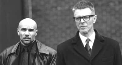 What happened when Bowie met Goldie